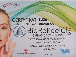 Dyplom BioRePeelCl3 Eliza Adamska